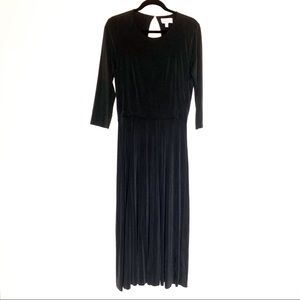 &other stories cut out back maxi dress